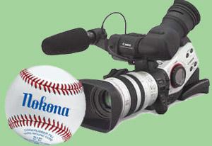 camera baseball