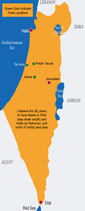 Israel fields